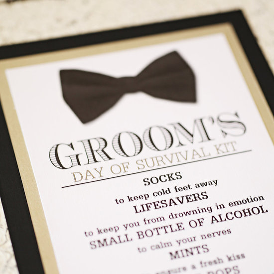 Wedding Day Emergency Kit Checklist For Grooms