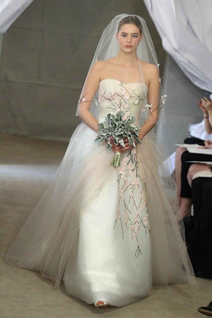 complete bridal look gown