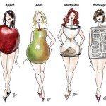 different body shapes for choosing a wedding gown