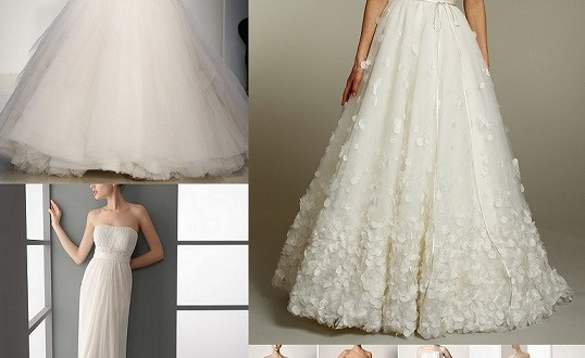 Types Of Wedding Gown